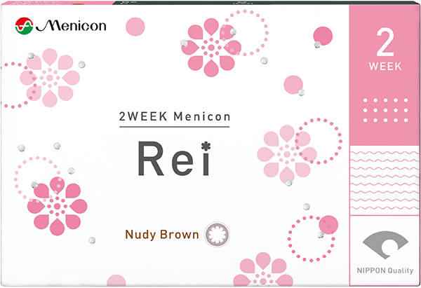 2WEEKメニコン Rei(Nudy Brown)
